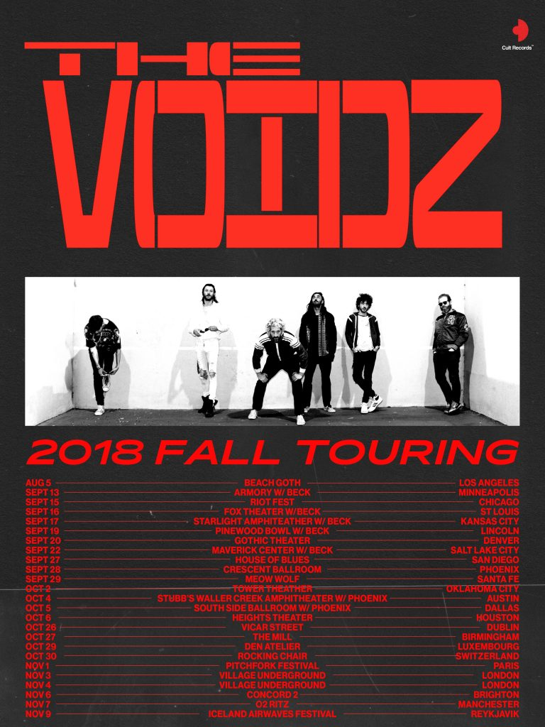 The Voidz Fall Tour